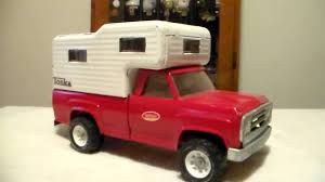 Tonka Pick-Up With Piggy Back Camper 1970's - YouTube Tonka 1958 Sportsman Stepside Toy Truck Camper With Trailer Last Builds Another Reallife Truck Autotraderca Feature Harrison Ftrucks 2016 Ford F150 Edition Classic Dump Big W Toyota Made A Reallife And Its Blowing Our Childlike Vintage Tonka Pickup Truck Grande Estate Auction 2013 Ford By Tuscany At Of Murfreesboro 888 Banks Power Youtube Set To Tour The Country On Board Restored 1955 Stake Hidden Hill Sales Vintage Pickup Blue And Red Pressed Steel Hot Street Rat Rod Custom John Deere My True Addiction