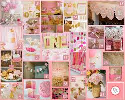 Pink And Gold Birthday Themes by A Little Bit Of Everything