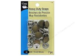Dritz Curtain Grommet Kit by Dritz Heavy Duty Snaps Size 24 7 Pc Antique Brass Createforless
