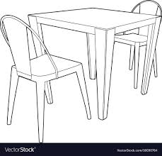 Drawing Of A Table And Two Chairs Royalty Free Vector Image Grey Glass High Gloss Ding Table And 4 Chairs Set Bar Table And Two High Stool Chairs Modern Design Stock Photo 40 Excellent Two Seater Online Bistro With Stools Fniture Tables On Amelia Twotone Wood Barstools Room Ideas Ikea Small Top Round 84 Off Counter Garden In N21 Ldon For 4000 Sale Shpock With Home Design Modern Extension Tags Ding Bar