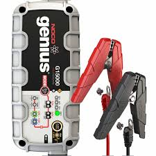 100 Heavy Duty Truck Battery Charger NOCO 15A With Engine Start G15000