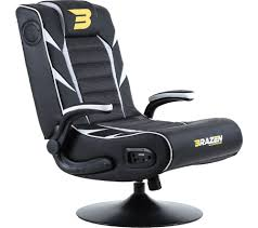 BRAZEN Panther Elite Wireless Bluetooth Gaming Chair - White Gurugear 21channel Bluetooth Dual Gaming Chair Playseat Bluetooth Gaming Chair Price In Uae Amazonae Brazen Panther Elite 21 Surround Sound Giantex Leisure Curved Massage Shiatsu With Heating Therapy Video Wireless Speaker And Usb Charger For Home X Rocker Vibe Se Audi Vibrating Foldable Pedestal Base High Tech Audio Tilt Swivel Design W Adrenaline Xrocker Connectivity Subwoofer Rh220 Beverley East Yorkshire Gumtree Pro Series Ii 5125401 Black