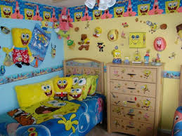 kids bedroom décor ideas inspired by spongebob squarepants