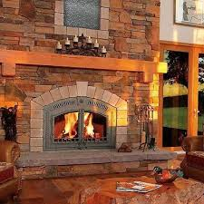 Install Wood Burning Fireplace