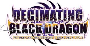 buddyfight trial deck 5 x trial deck 1 decimating black future card buddyfight