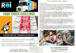 100 Food Truck Challenge Team Building Programs Team Building ROI