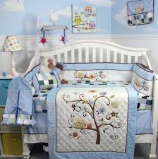 Baby Boy Owl Bedding