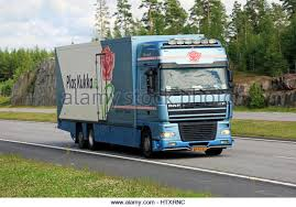 Dutch Flower Lorry Stock Photos Images