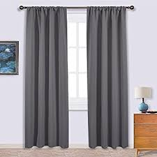 amazon com blackout room darkening curtains window panel drapes