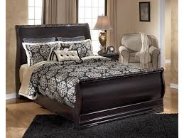 Porter King Sleigh Bed by Signature Design By Ashley Esmarelda Queen Sleigh Bed With Faux
