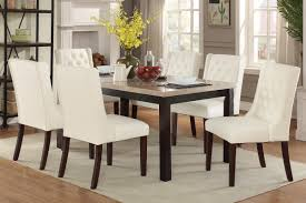 7PC Dining Table Set (F2296/ F1503) Coaster Fniture Los Feliz Ding Table Max Casual Counter Height Set By Elements Intertional At Household Home Furnishings 7pc Chairs Contemporary Style Cappuccino Finish Casual Ding Room Table Settings Good Room Sets Create An Viting Space In A Kitchen Or Target Marketing Systems Helena 5 Piece Overhead View Of Restaurant With Wooden And Bradshaw Round Pub Ladderback Chair Liberty Appliancemart Alyssa Portland City Liquidators The Alzare Raising Coffee