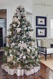 Barcana Christmas Trees by Seahorse U0026 Stripes Coastal Chic Designer Christmas Tree 2012