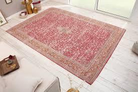 teppich marrakesch 350x240cm rot riess ambiente rechteckig höhe 10 mm orientalisches design florales muster wohnzimmer kaufen