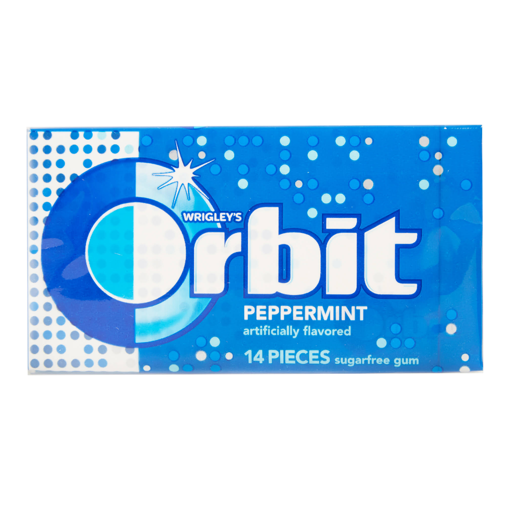 Orbit Chewing Gum - Original Peppermint, 14 Count