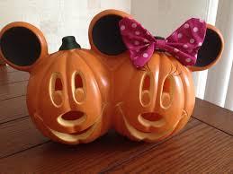 Minnie Mouse Painted Pumpkin by Halloween Pumpkin Table Decor Halloween Wikii