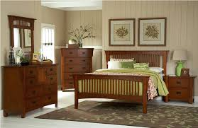 Craftsman Style Bedroom Furniture Mission Style Oak Bedroom