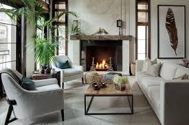 Living Room With Fireplace In The Middle by Luxury Living Room Design Ideas U0026 Pictures Zillow Digs Zillow