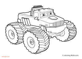 Unique Mater Coloring Pages Lovely Monster Truck Page For Kids Books ...