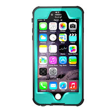 Waterproof iphone 6 Plus Case Teal $9 99 NEXT DAY SHIPPING