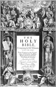 The Title Pages Central Text IsTHE HOLY BIBLEConteyning Old Testament