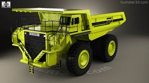 100 Euclid Truck 360 View Of R260 Dump 1996 3D Model Hum3D Store