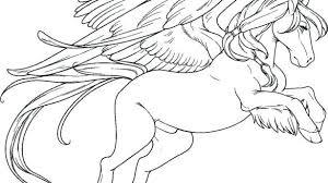 Pegasus Coloring Pages For Adults Page With
