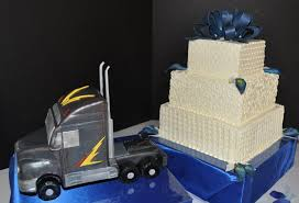 Semi Truck Pull Wedding Cake. This Is Cute For A Trucker And Their ... Photo Gallery Dixie Cfexions Wedding Cake With Truck Sling Mud From Icimagesco The Hunt Is Over Cakes Monster Shop Cupcakes Bakery Flavors 268 Patty Highland Il Muddy Cakecentralcom Twotier Buttercream With Pink Flowers And Wire Topper Thats A Redneck Bright Ideas