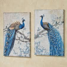 Royal Blue Bathroom Wall Decor by Peacock Themed Home Decor Touch Of Class