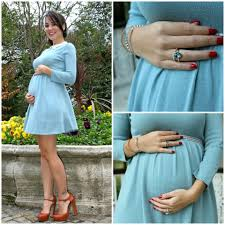 styleboom b asos blue maternity sweater dress vince camuto mary