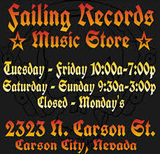 Failing Records - 13 Photos - Vinyl Records - 2323 N Carson St ... Nevada Mechanical Contractor Reno Nv Rhp Systems Inc Online Bookstore Books Nook Ebooks Music Movies Toys Mountain States Super Lawyers Recognizes Holland Hart Attorneys Zephyr Heights Lake Tahoe Real Estate South Hundreds Celebrate National Native Heritage Month Renosparks Steam Locomotive Controls Robert Lee Murphy Western Express Remnantology Mbstone Tuesday Humorous Epitaphs From The West Alabama Pioneers Property Listings Gershman Properties 6 Top Shopping Spots In Charleston Locals Picks Travel Us News Ball Four By Jim Bouton Signed Abebooks A Tour Of Nevadas Natural Wonders Atlas Obscura