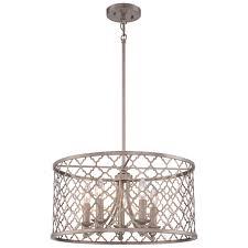 Wayfair Chandelier Lamp Shades by You U0027ll Love The 5 Light Drum Chandelier At Wayfair Great Deals