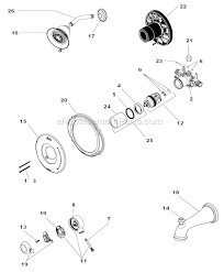 Delta Tub Faucet Leaking At Base by Amazing Delta Faucet 1755 716 Parts List And Diagram