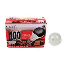 service 100w light bulbs 3 pack uninex international