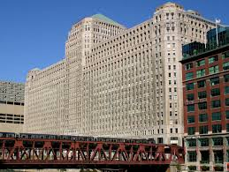 The Merchandise Mart Is A Heavyweight In Absolute Sense Of Term When It Was Completed 1930 Biggest Building