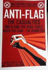 Gaslight Anthem Sink Or Swim Spotify by Hand Registered Anti Flag Poster 43 Dan Rugh Pinterest Rock