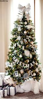 Glam Winter Wonderland Christmas Tree Lovely Etc Merry Pictures