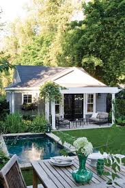 Decorative Pool Guest House Designs by Best 25 Small Houses Ideas On Small Houses