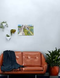 wimmelbild berge drachen metallbild
