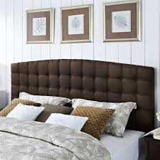 Diy Upholstered Headboard For Nice Bedroom Ideas In King Size Interior Images
