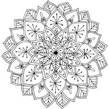This Mandala Was Drawn While The Artist Camping Near Hopetoun Victoria Australia Coloring PagesFree Printable