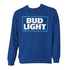 Light Logo Navy Crewneck Sweatshirt