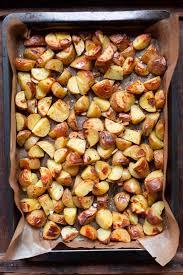 knoblauch ofenkartoffeln mit tzatziki nur 5 zutaten