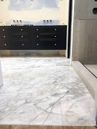 Adding Marble Flooring To The Master Bathroom