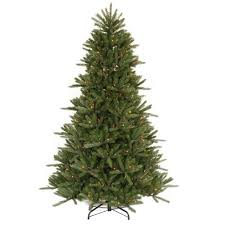 95 Vermont Fir Instant Shape Artificial Christmas Tree With Multi Light