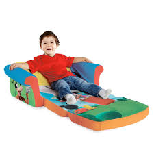 Mickey Mouse Clubhouse Toddler Bed by Spin Master Marshmallow Furniture Flip Open Sofa Mickey Mouse