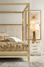 Z Gallerie Omni Dresser by Silver Metallic Canopy Bed Thick Posts Want Black Or Grey Velvet
