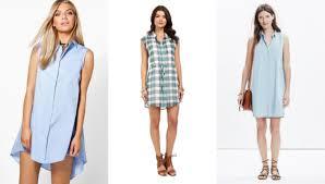 would you wear a sleeveless shirt dress college fashion
