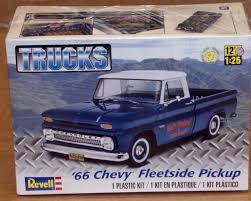 100 Plastic Model Trucks Revell 66 Chevy Fleetside 125 Scale Truck Series Plastic Model Kit