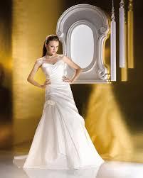 Simple Sweep Brush Train Sweetheart Taffeta Lace A Line Hand Made Flowers Wedding Dresses