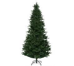 Royal Douglas Fir Artificial Christmas Tree by Santa U0027s Best 9 U0027 Balsam Fir Tree With Rgb Function Page 1 U2014 Qvc Com